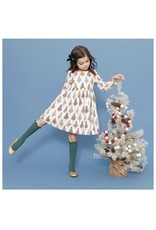 Pink Chicken Pink Chicken- Multi Christmas Trees Sheila Dress