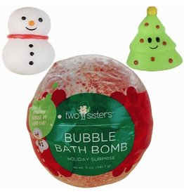 Two Sisters Spa Two Sisters Spa - Christmas Squishy Surprise Bubble Bath Bomb
