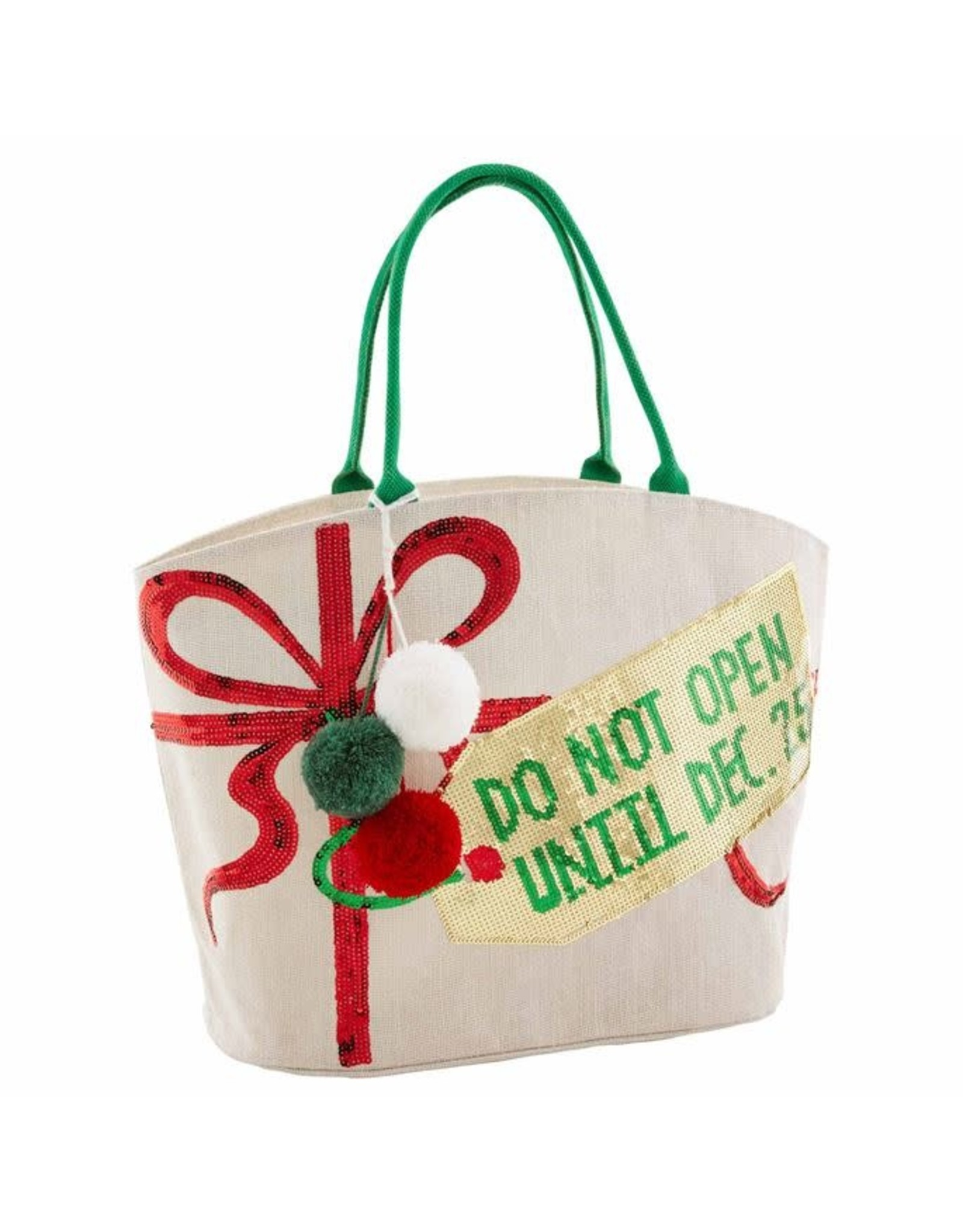 Mudpie Mud Pie- Do Not Open Dazzle Tote