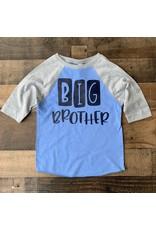 BIG BROTHER Grey/Blue Raglan