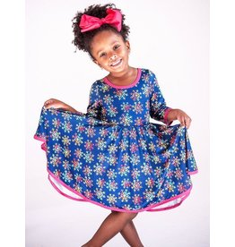 Charlies Project CP- Colorful Snowflake Hugs Collection Dress