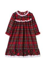 Little Me Little Me - Girl Plaid Gown