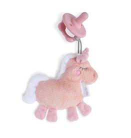 Itzy Ritzy Itzy Ritzy- Sweetie Pal Plush & Pacifier: Unicorn
