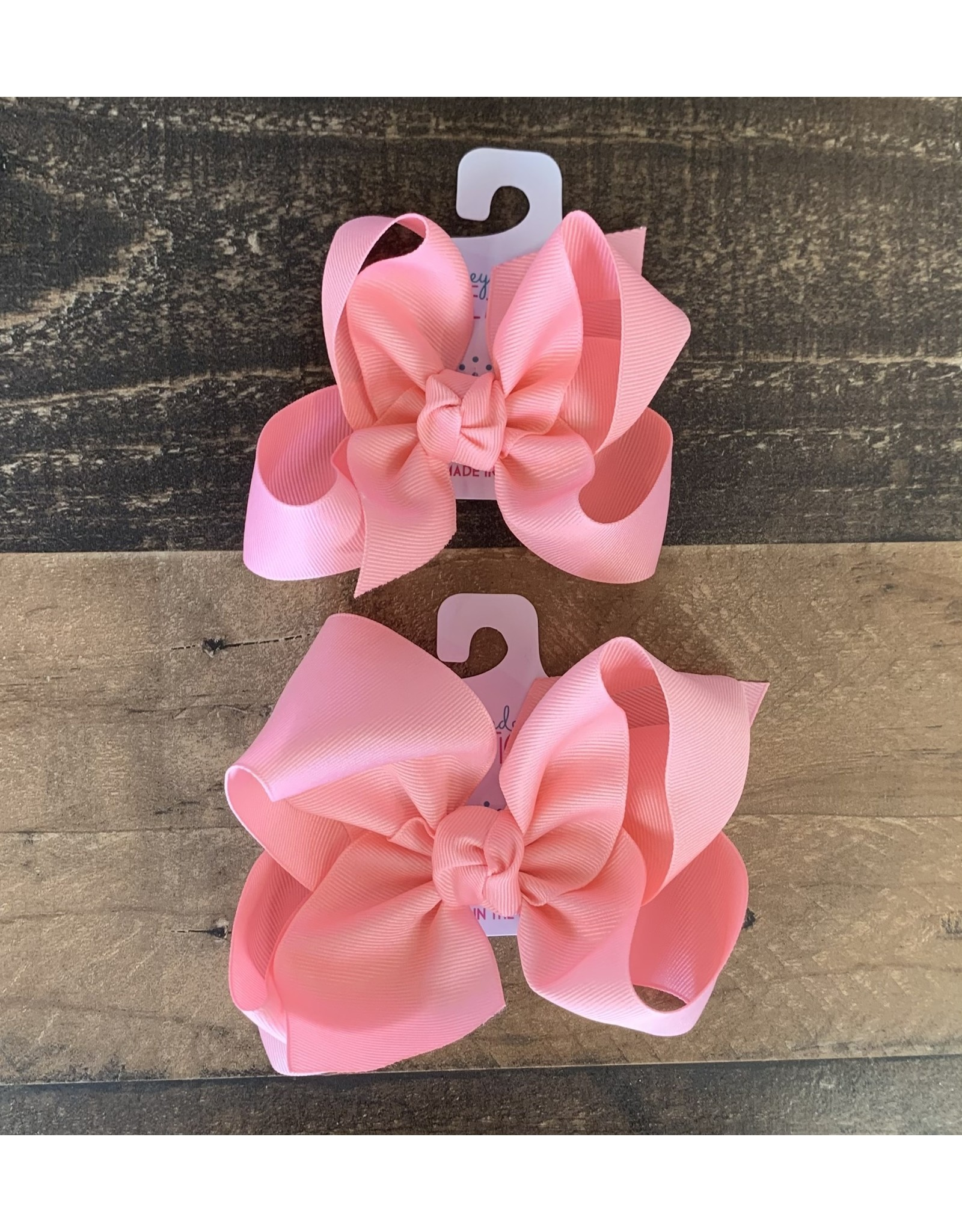 Beyond Creations Beyond Creations- Pink Grosgrain Knot Bow