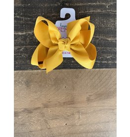 Beyond Creations Beyond Creations- Old Gold Grosgrain Knot Bow