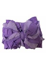 In Awe- Purple Stripe Headband