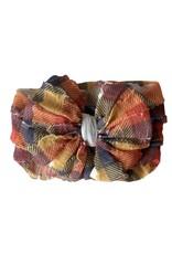 In Awe- Fall Plaid Headband