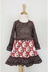 Leopard Santa Dress
