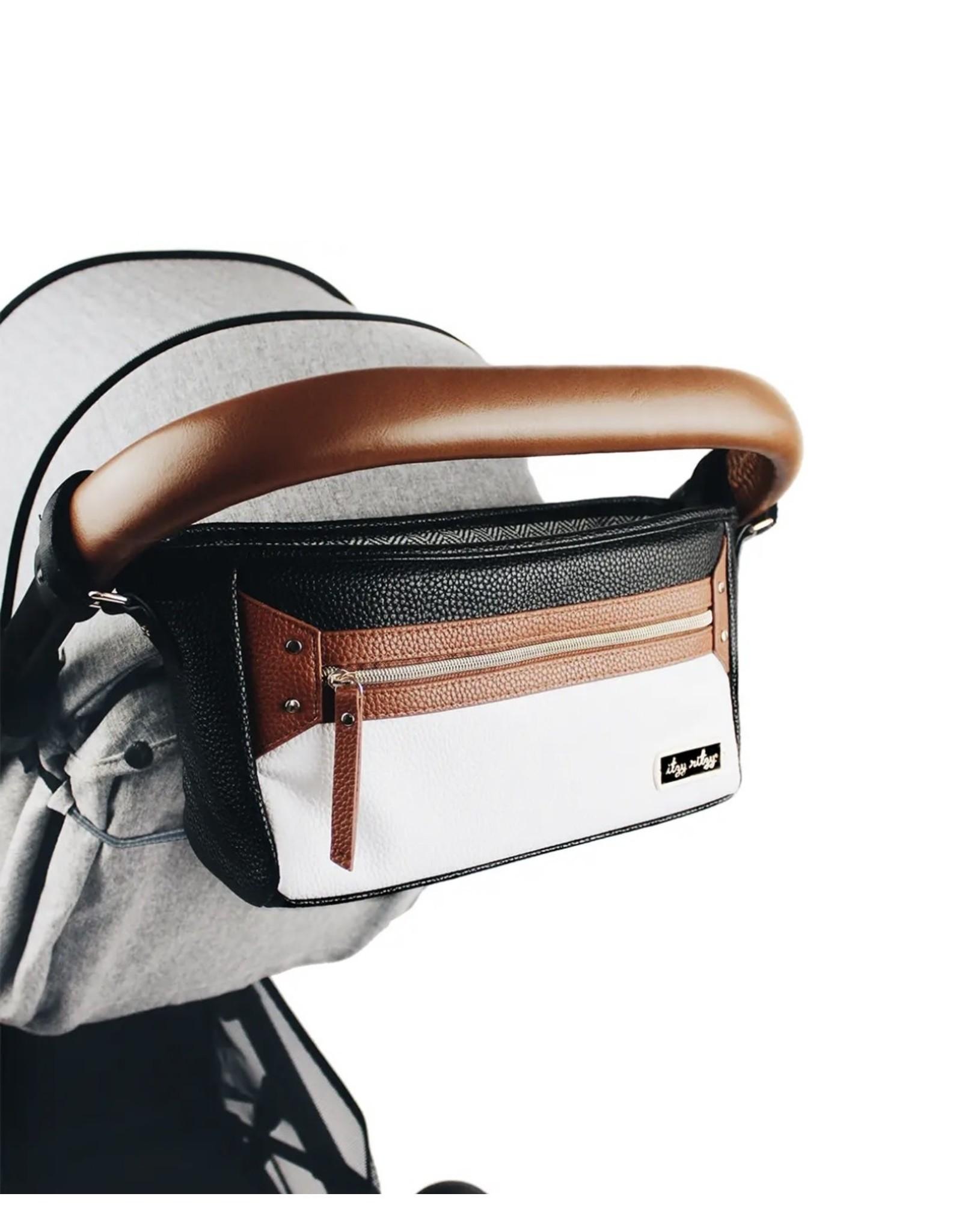 Itzy Ritzy Itzy Ritzy- Coffee & Cream Travel Stroller Caddy