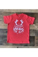 Cutest Reindeer of All Shirt: Red