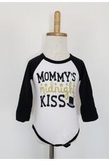 Mommy's Midnight Kiss Raglan Onesie