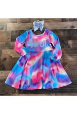 """Tie Dye """"Seven"""" Dress"""