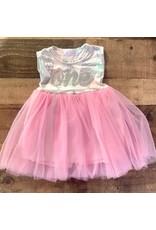Mila & Rose - Geometric Print Tank Tutu Dress 12-24M