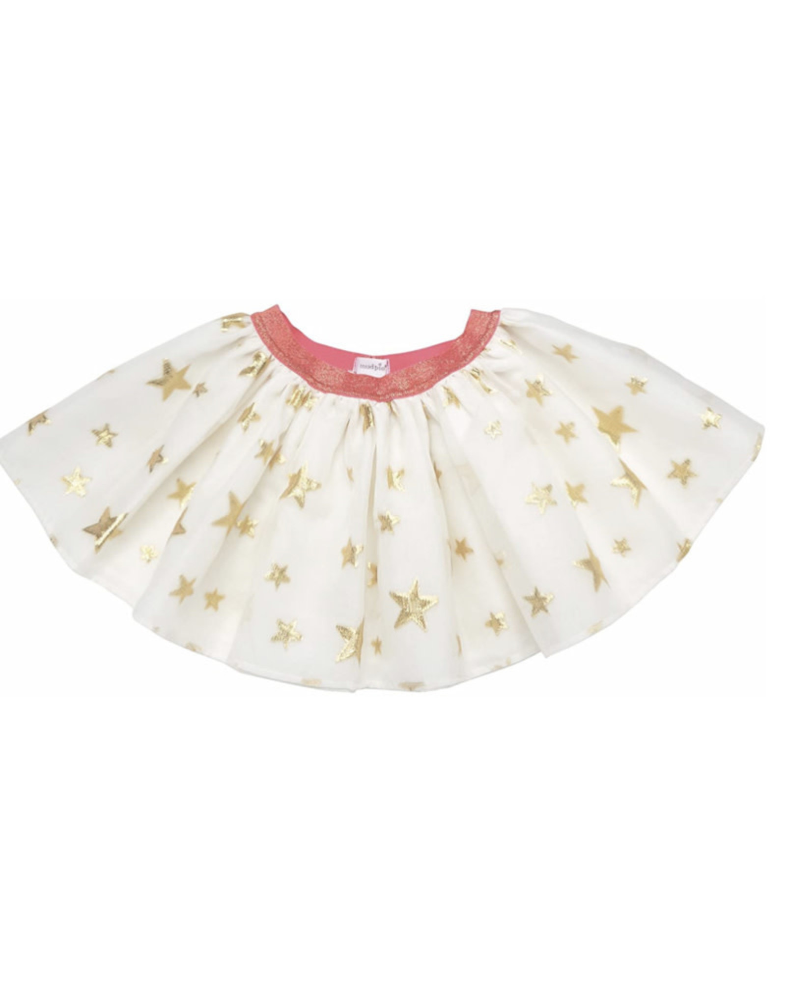 Mudpie Mud Pie - Gold Star Skirt 12-18M