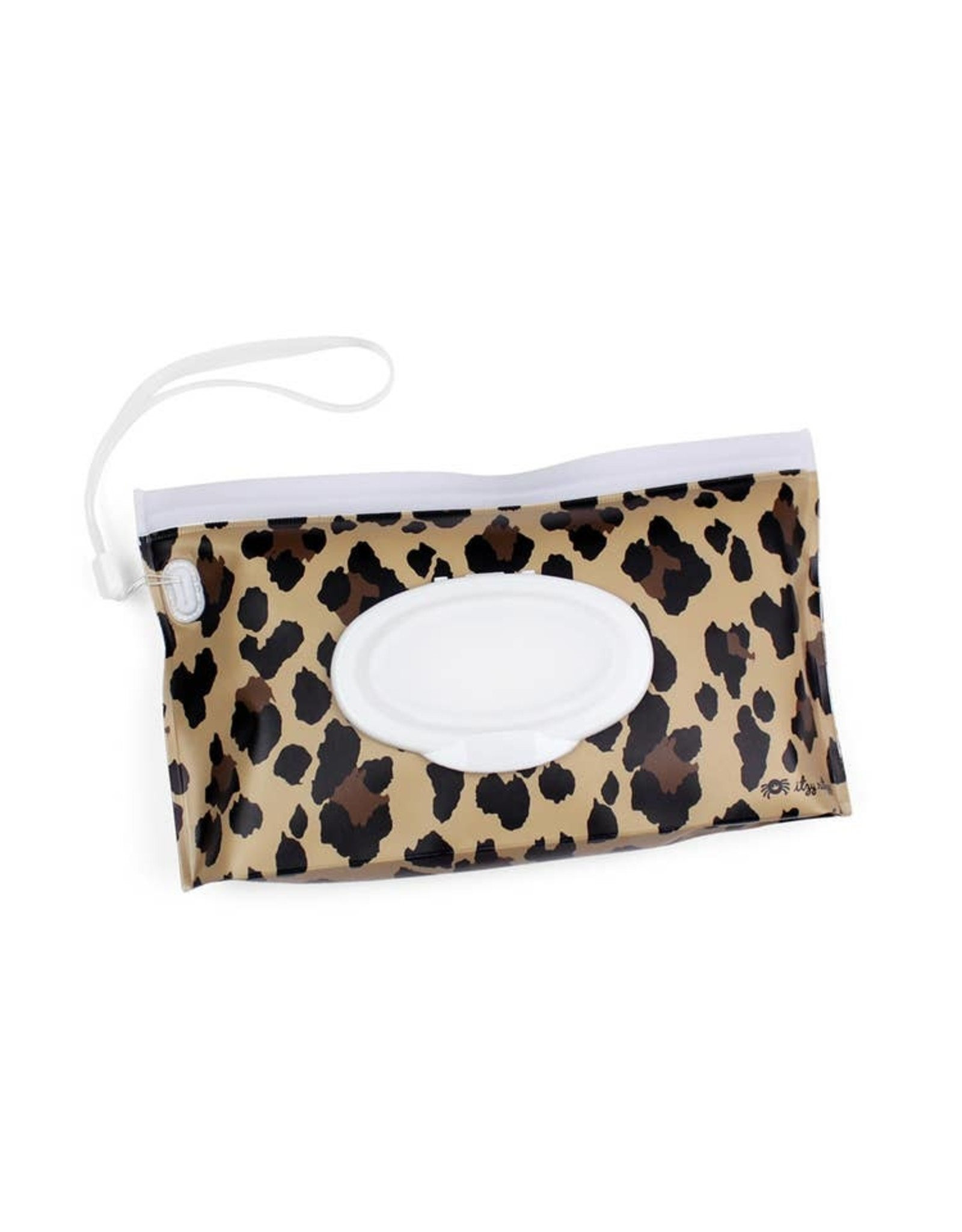 Itzy Ritzy Itzy Ritzy - Take & Travel Pouch Wipes Case Leopard