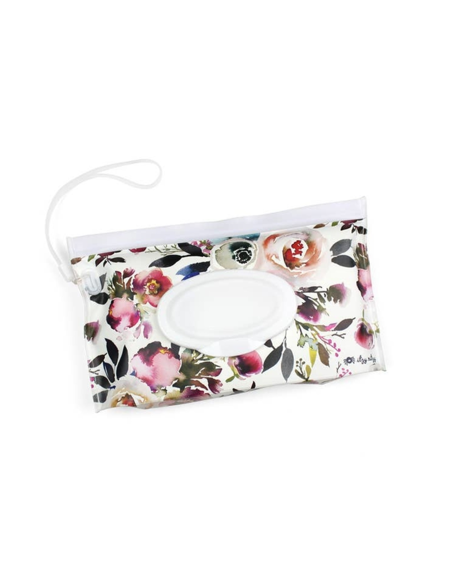Itzy Ritzy Itzy Ritzy - Take & Travel Pouch Wipes Case Blush Floral