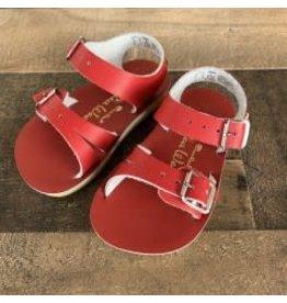 Salt Water Sandals Salt Water Sandals- Sea Wee: Red