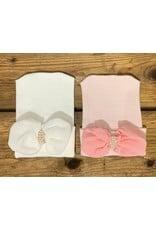Cradle Cuties- Chiffon Bow Hospital Hat