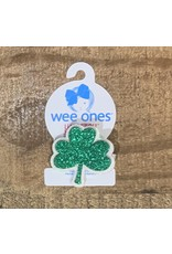 Wee Ones - Large Sequin Shamrock Hair Clip