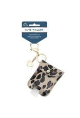 Itzy Ritzy Itzy Ritzy- Leopard Cute n' Clean Hand Sanitizer Keychain