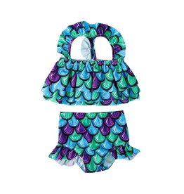 Mermaid Scales Two Piece Swimsuit