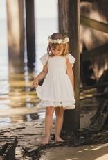 Evie's Closet- White Swiss Dot Dress