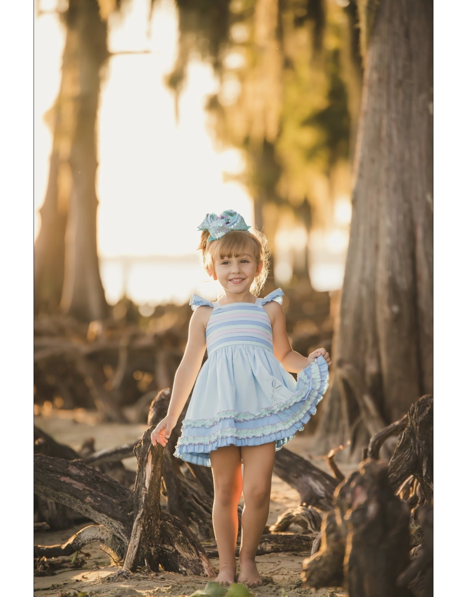 Evie's Closet- Mermaid & Pintucks Dress
