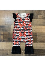 Minnie Mouse Bow Romper