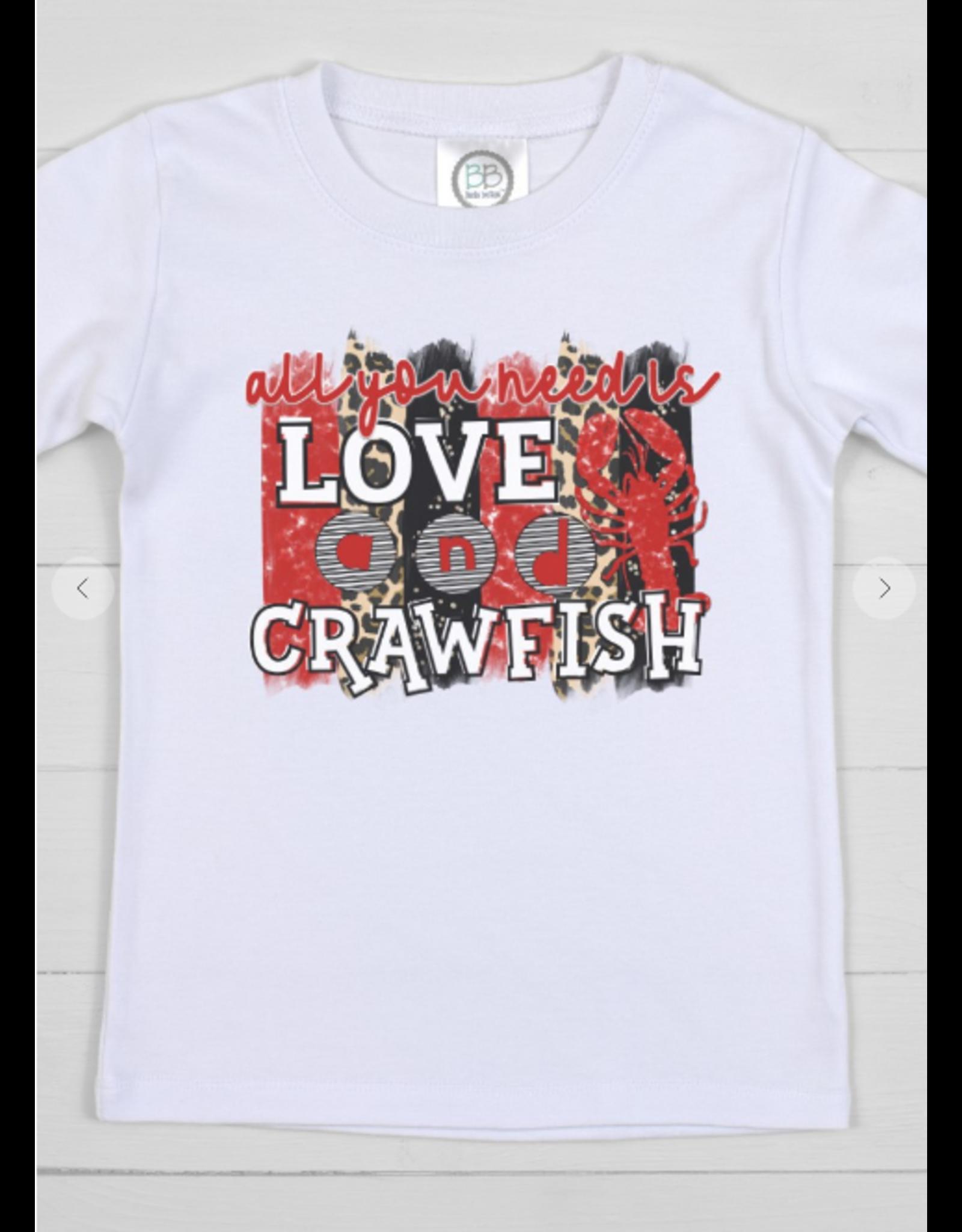 All You Need is Love & Crawfish TShirt