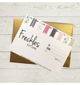 Freckles Gift Card