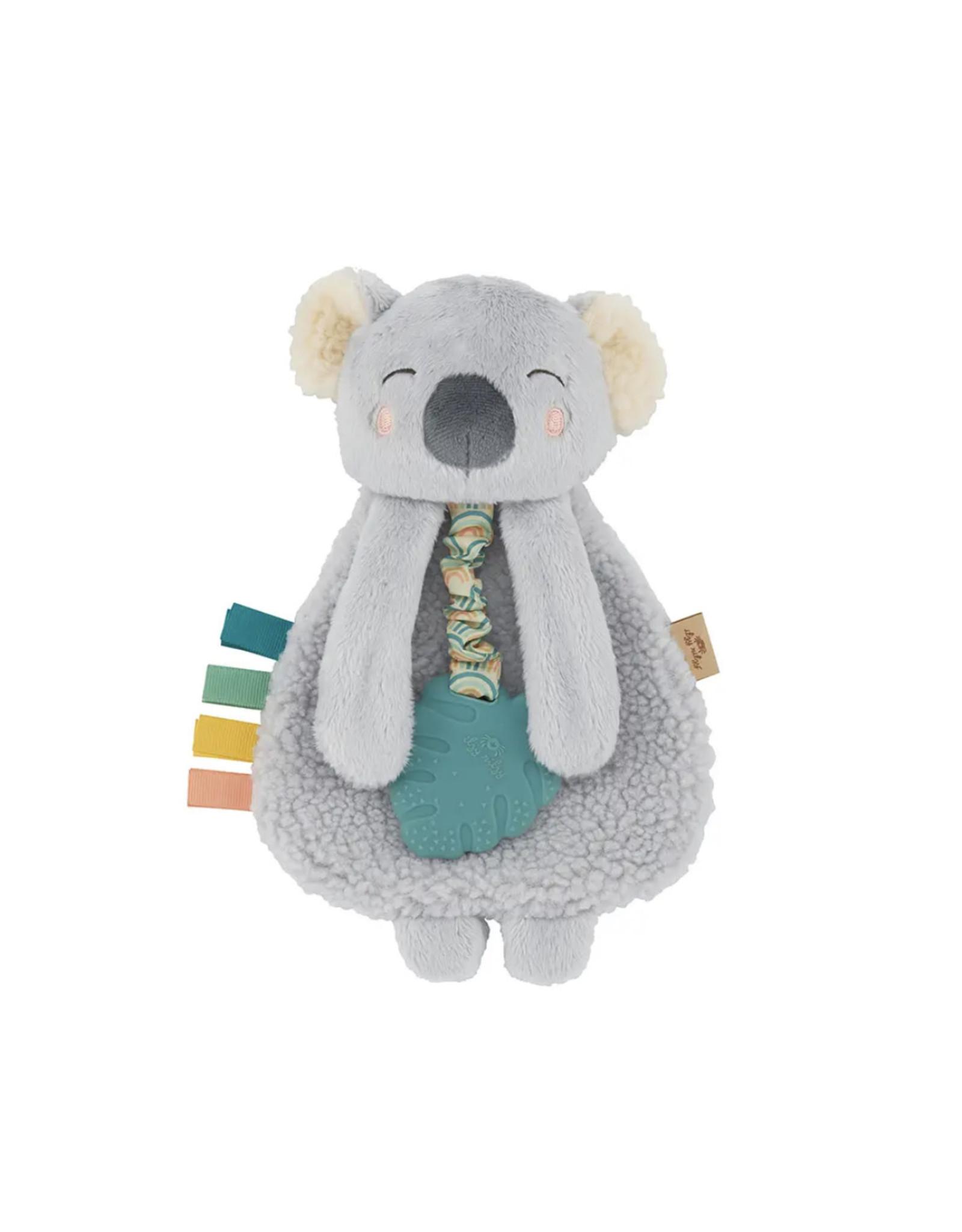 Itzy Ritzy Itzy Ritzy- Plush Lovey w/Silicone Toy: Koala