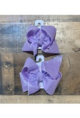 Beyond Creations Beyond Creations- Light Orchid Glitter Metallic Knot Bow