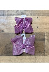 Beyond Creations Beyond Creations- Orchid Glitter Metallic Knot Bow
