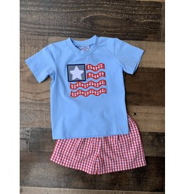 Three Sisters Three Sisters- American Flag Short Set
