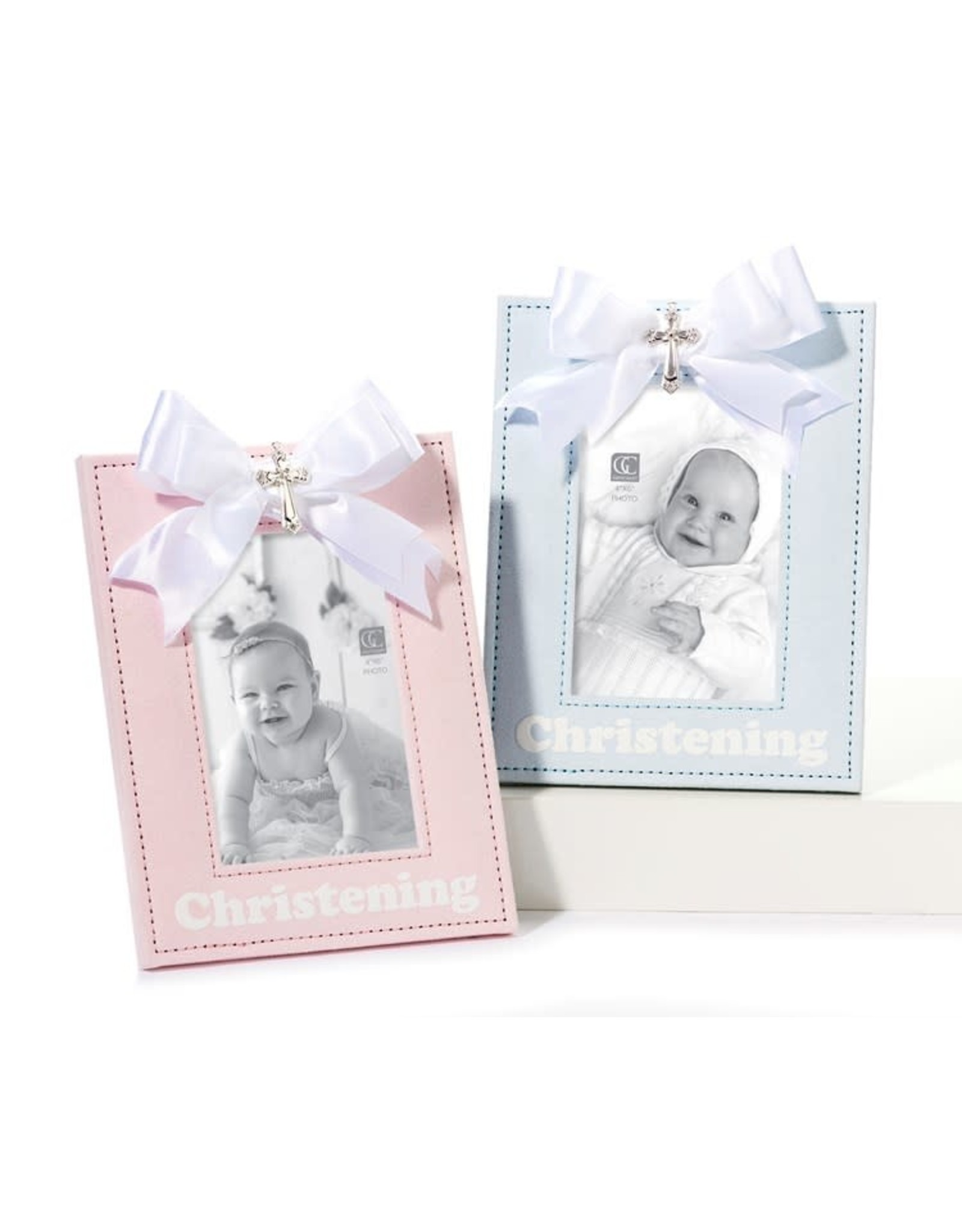 Giftcraft- Pink Christening Frame