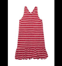 Isobella & Chloe Isobella & Chloe- Red Bubble Stripe Knit Dress