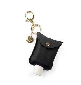Itzy Ritzy Itzy Ritzy- Cute N' Clean Hand Sanitizer Case: Black