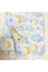 Adaline Adaline- Moon & Stars Blanket