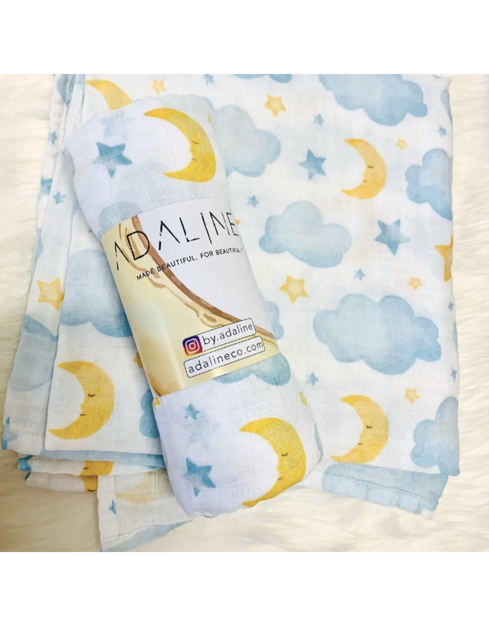 Adaline- Moon & Stars Blanket