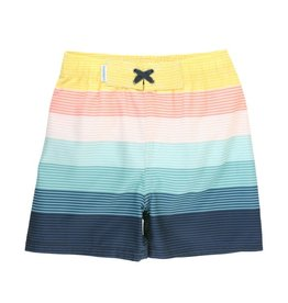 Ruffle Butts Ruffle Butts- Island Stripe Swim Trunks