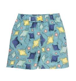 Ruffle Butts Ruffle Butts- Starfish & Stingrays Swim Trunks