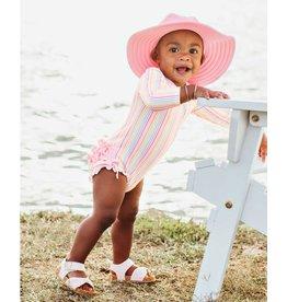 Ruffle Butts Ruffle Butts- Pink Swim Hat