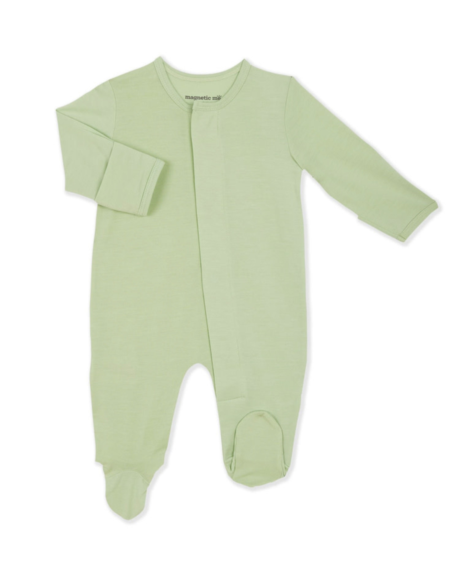 Magnetic Me Magnetic Me- Pastel Green Solid Modal Magnetic Footie