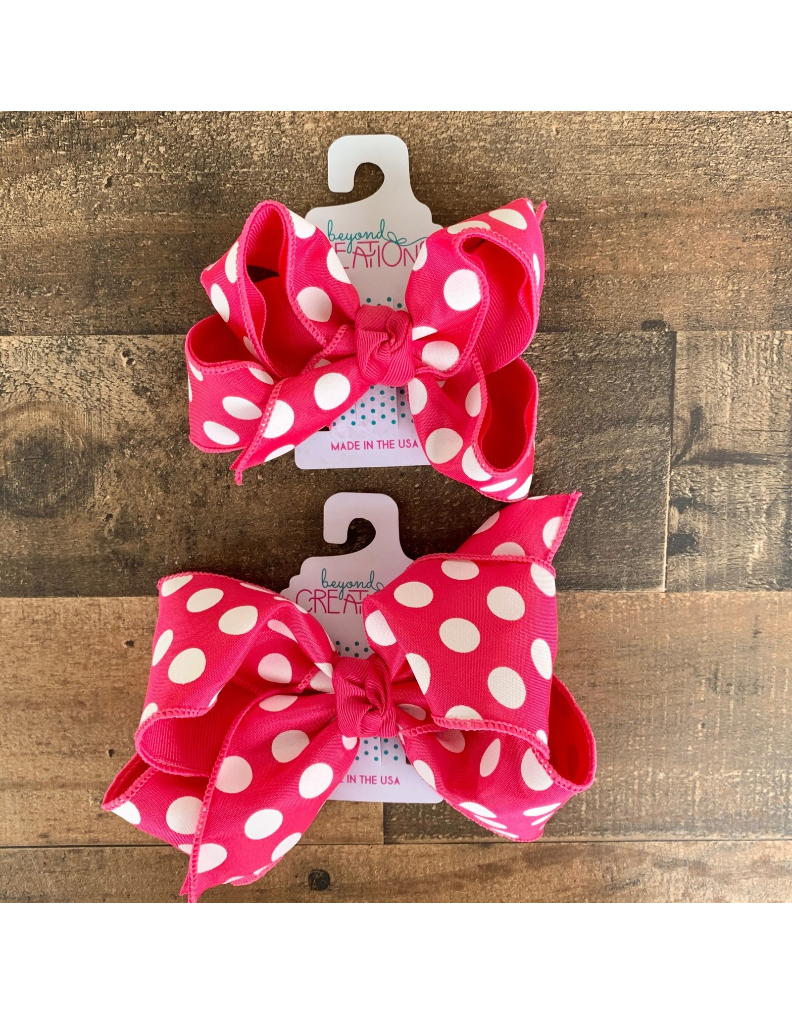 Beyond Creations Beyond Creations- Layered Fuschia/Fuschia Knot Bow