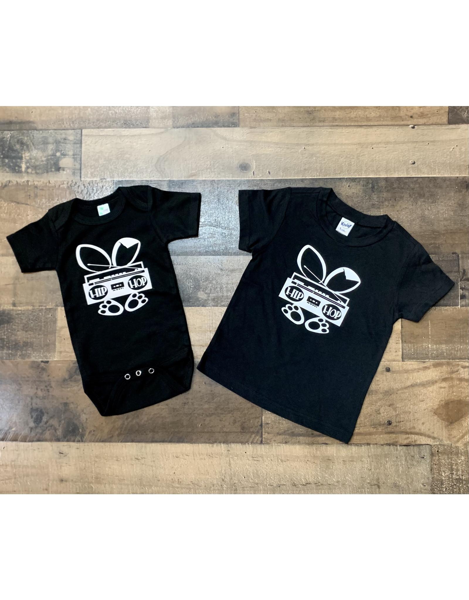 Hip Hop Bunny Blk/Wht