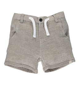 Me & Henry Me & Henry- Brown Crew Gauze Shorts