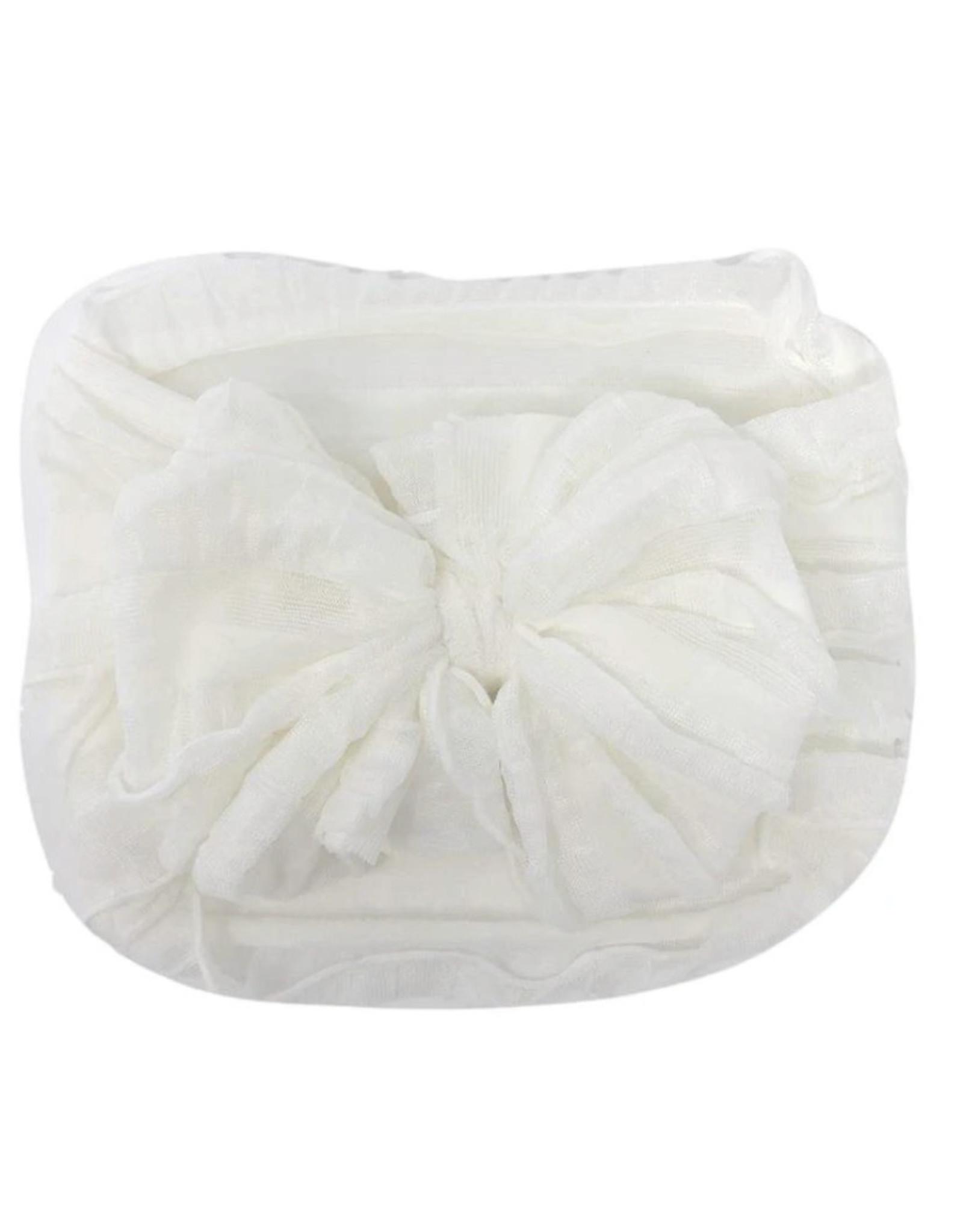 In Awe- Off White Headband