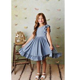Serendipity Serendipity- Chambray Bella Pocket Dress