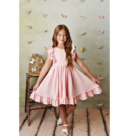 Serendipity Serendipity- Blush Pink Bella Pocket Dress