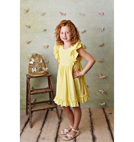Serendipity Serendipity- Lemon Bella Pocket Dress